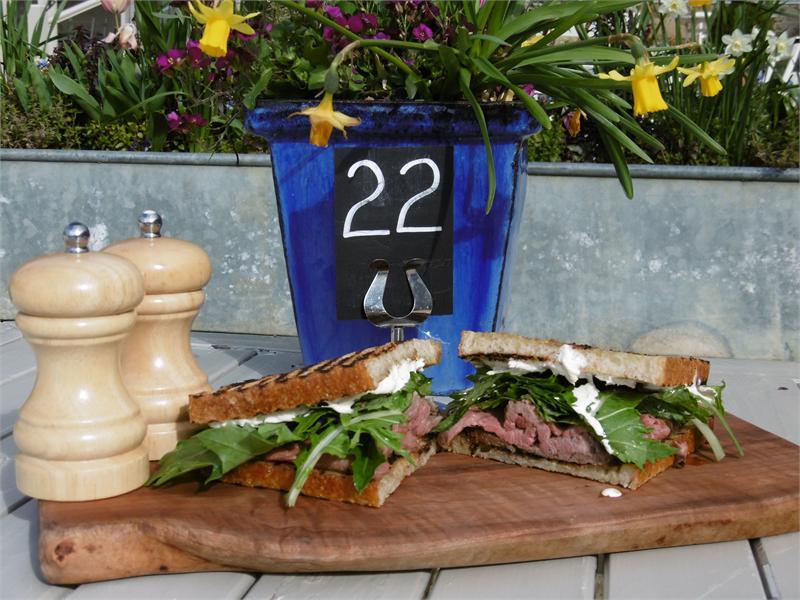 Symondsbury Kitchen Lunch Menu